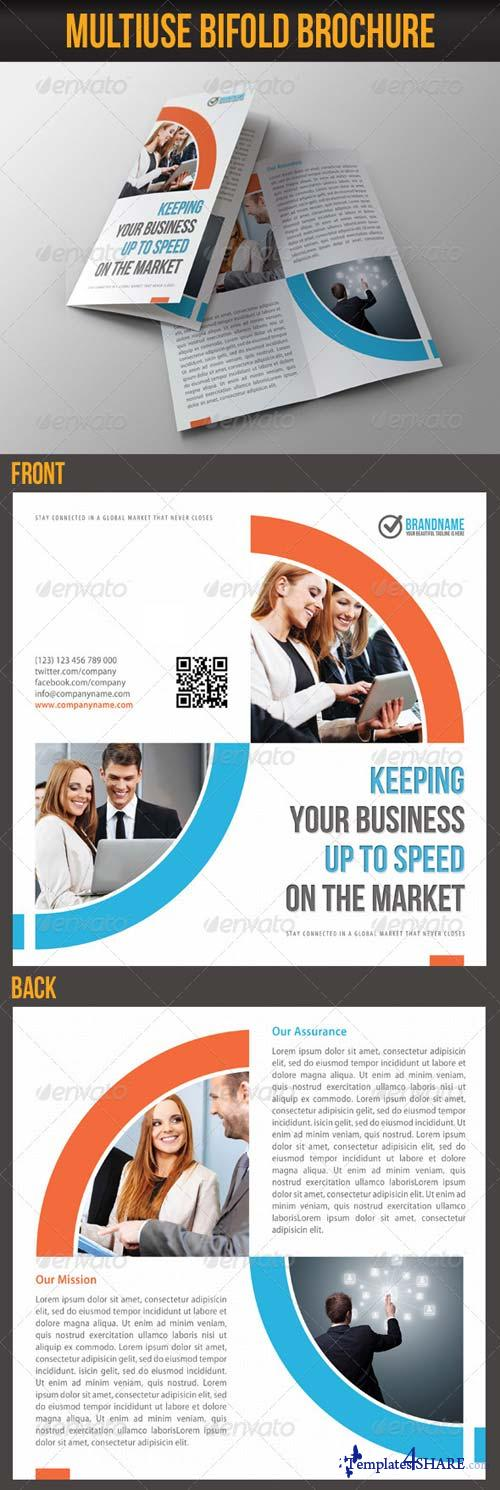 GraphicRiver Multiuse Bifold Brochure 10