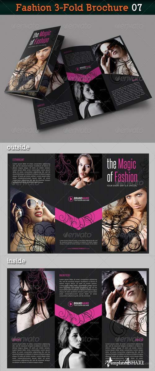 GraphicRiver Fashion 3-Fold Brochure 07