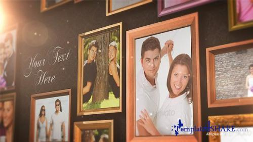 Real Frames Photo Album - After Effects Project (Videohive)