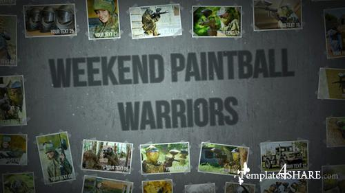 Weekend Paintball Warriors - After Effects Project (Videohive)