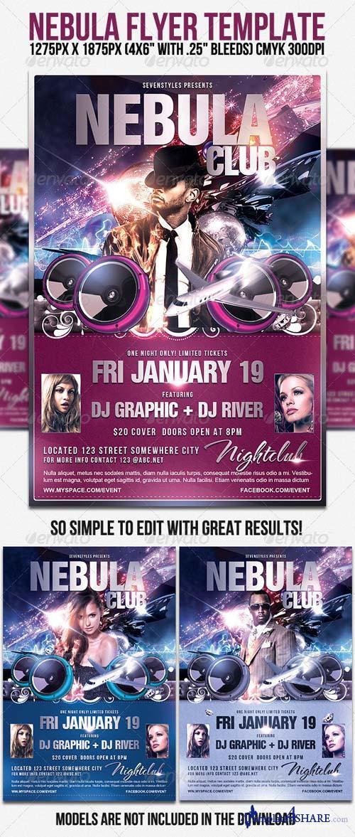 GraphicRiver Nebula Flyer Template
