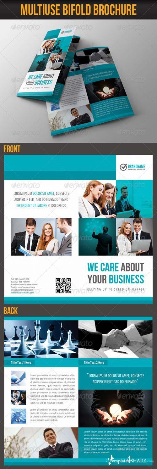 GraphicRiver Multiuse Bifold Brochure 14