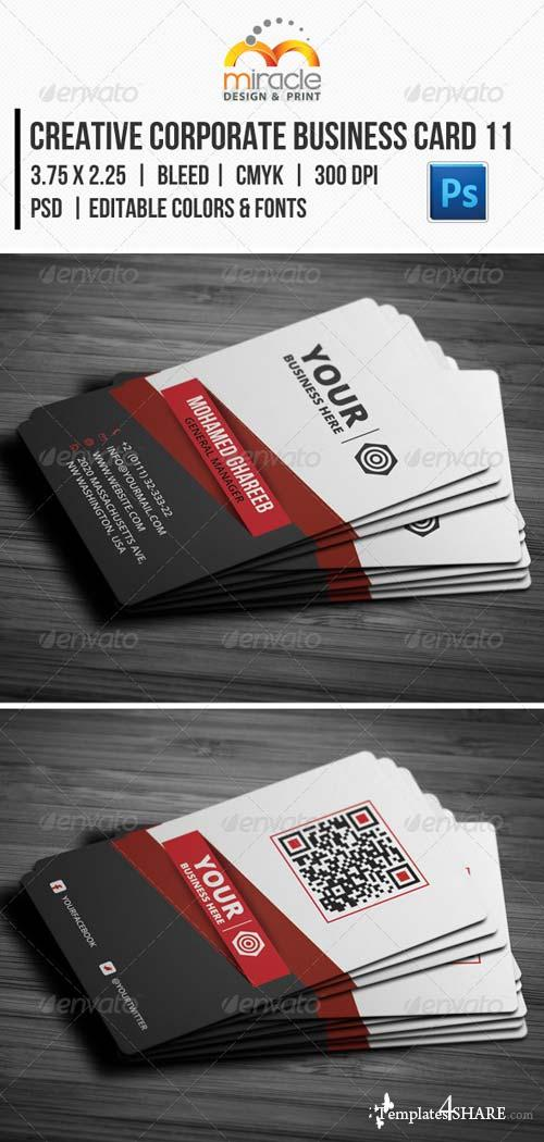 GraphicRiver Creative Corporate Business Card 11