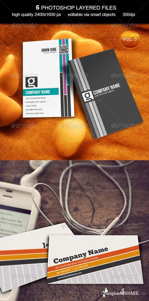 GraphicRiver Business Card MockUp -Vol.3