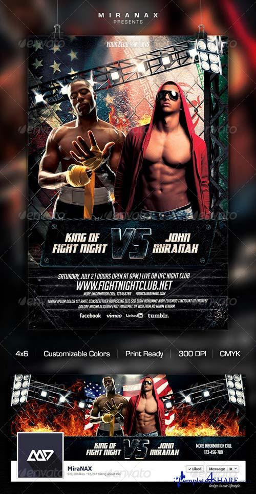 GraphicRiver MMA/UFC - Showdown Flyer Template