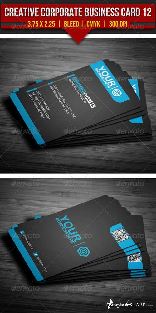 GraphicRiver Creative Corporate Business Card 12