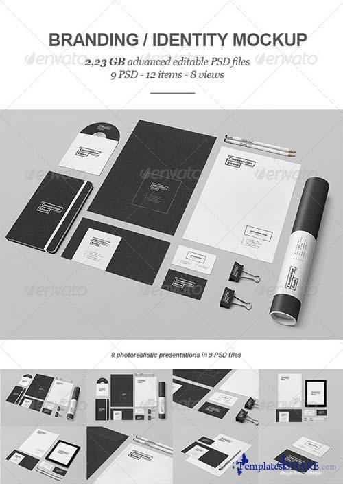 GraphicRiver Branding / Identity Mock-up V