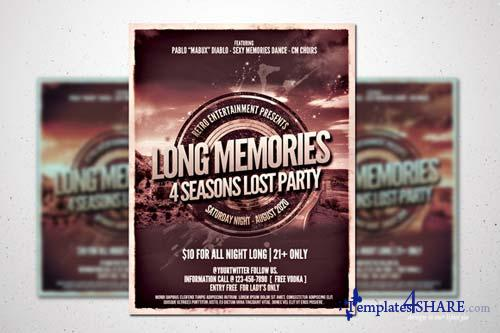 CreativeMarket Retro Music Poster vol.1