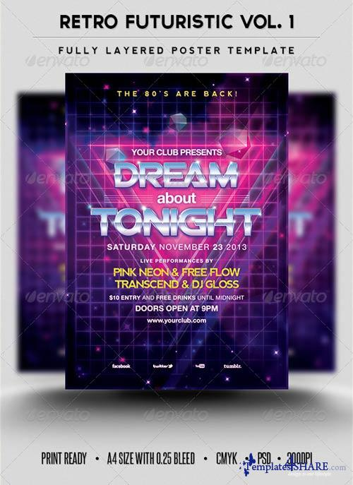 GraphicRiver Retro Futuristic Vol.1
