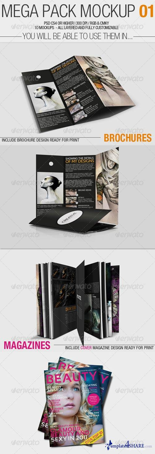 GraphicRiver Mega Pack Mock-Up #1