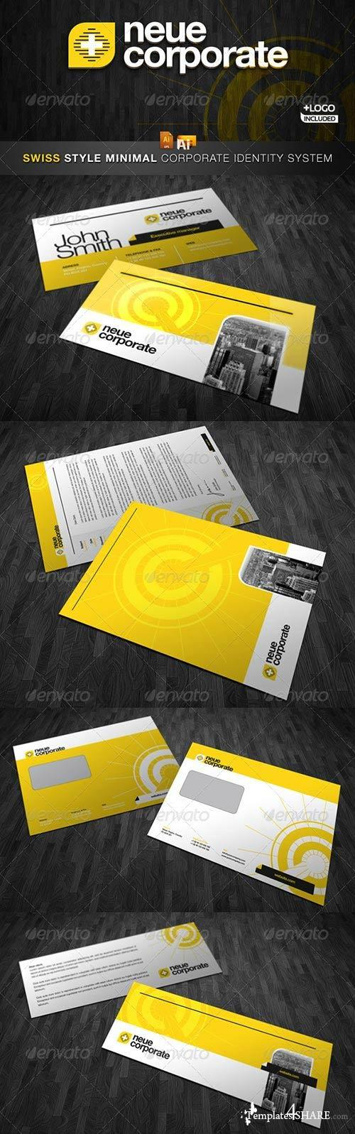 GraphicRiver RW Swiss Style Modern Corporate Identity And Logo