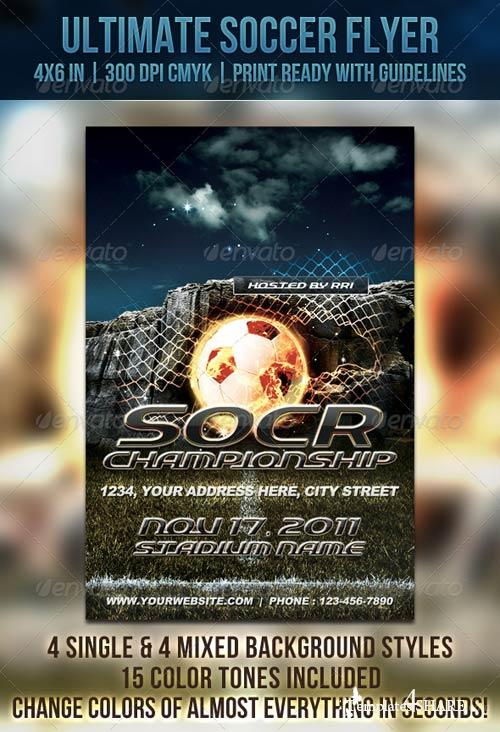 GraphicRiver Ultimate Soccer Flyer