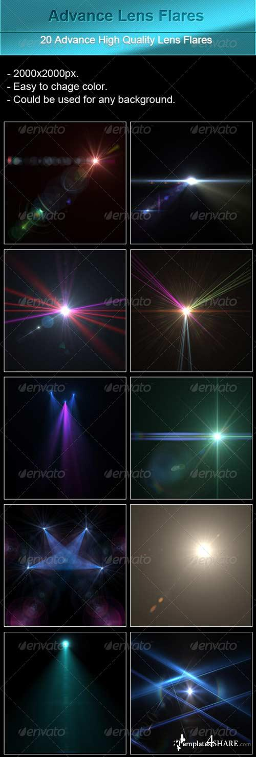 GraphicRiver Advance Lens Flares