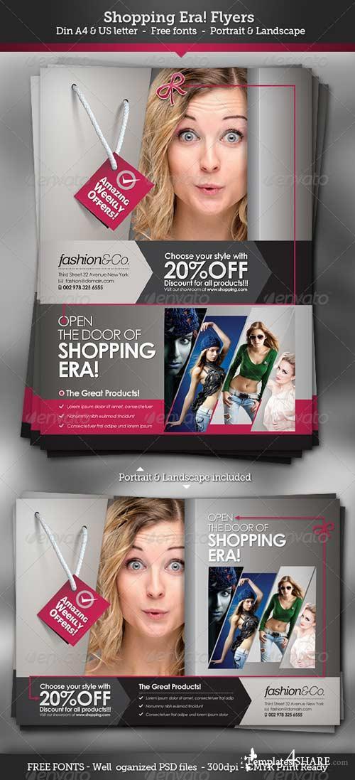 GraphicRiver Shopping Era | Flyers