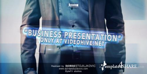 The Business Presentation - After Effects Project (Videohive)