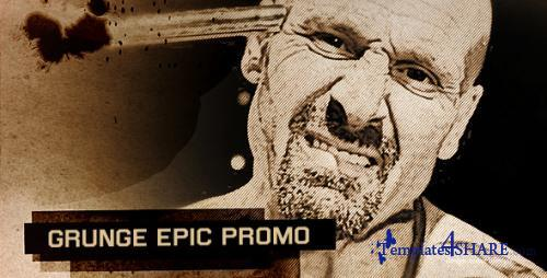 Grunge Epic Promo - After Effects Project (Videohive)