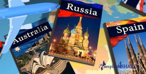 Travel Memoirs Photo Album - After Effects Project (Videohive)