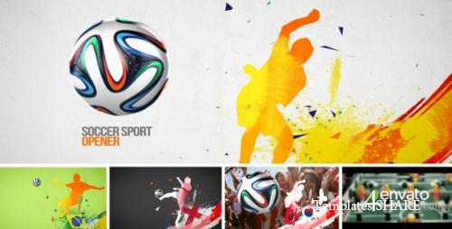 Soccer Sport Opener - After Effects Project (Videohive)