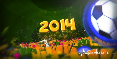 Brazil Soccer 2014 - After Effects Project (Videohive)