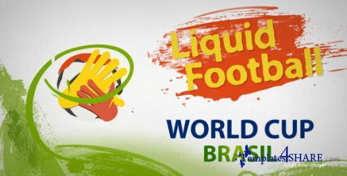 Liquid Football (Soccer) - After Effects Project (Videohive)