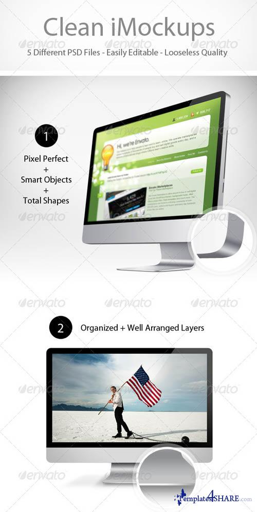 GraphicRiver Clean iMockups