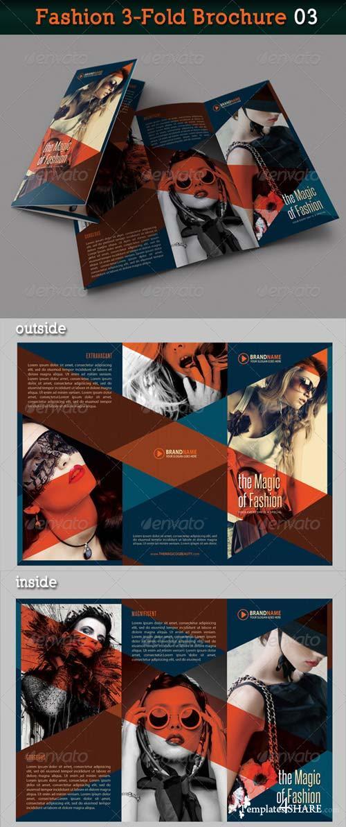 GraphicRiver Fashion 3-Fold Brochure 03
