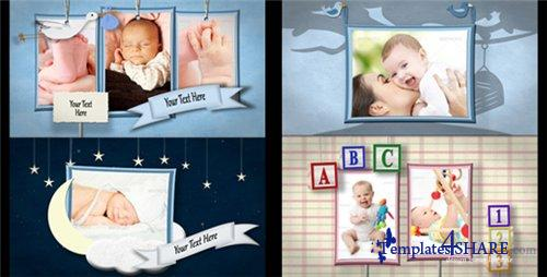 Baby Shadowbox Show - After Effects Project (Videohive)