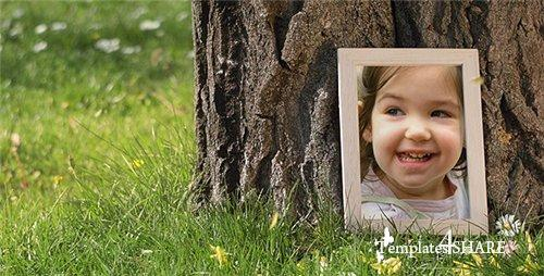 Photo Gallery in a Sunny Park - After Effects Project (Videohive)