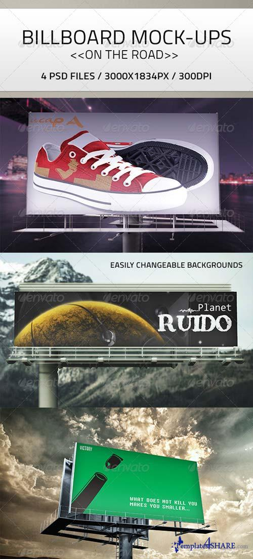 GraphicRiver Billboard Mock-Up PSD