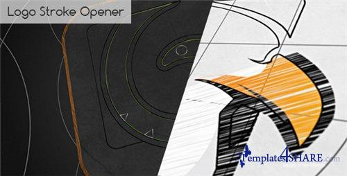 Logo Stroke Opener - After Effects Project (Videohive)