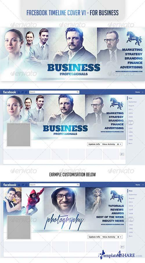 GraphicRiver Facebook Timeline Cover v1- For Business