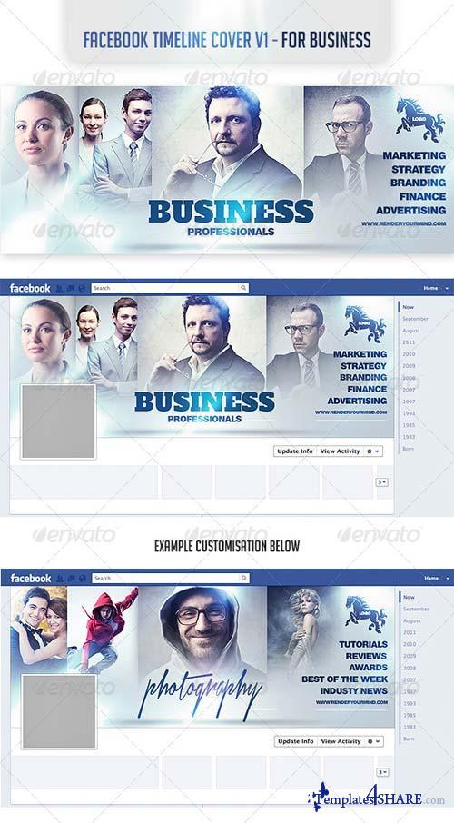 GraphicRiver Facebook Timeline Cover v1- For Business