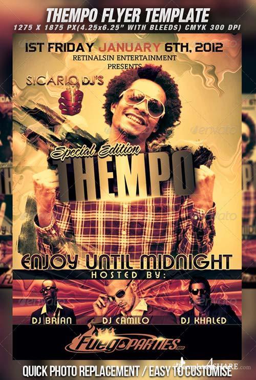 GraphicRiver Thempo Flyer Template