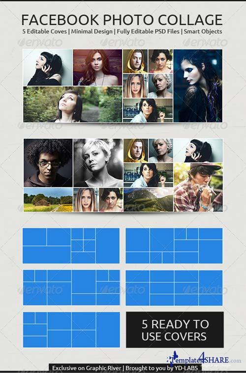 GraphicRiver FB Photo Collage