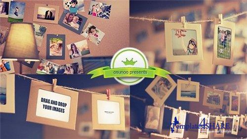 Photo Gallery Memories - After Effects Project (Videohive)