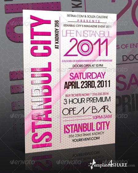 GraphicRiver Event Flyer Template Vol.4