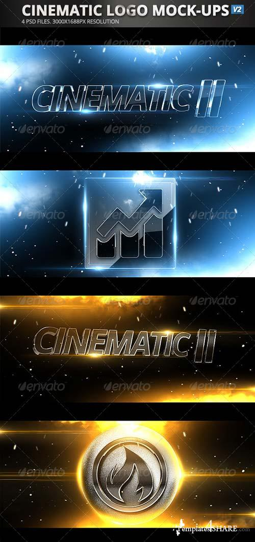 GraphicRiver Cinematic Logo Mock-Ups v2