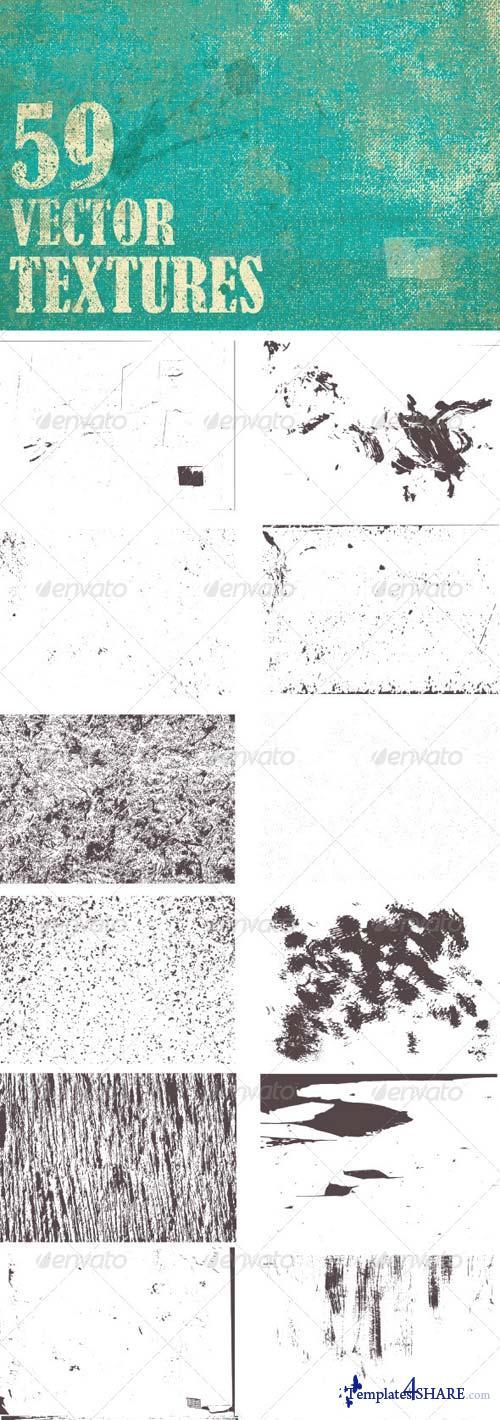 GraphicRiver Grunge Vector Textures