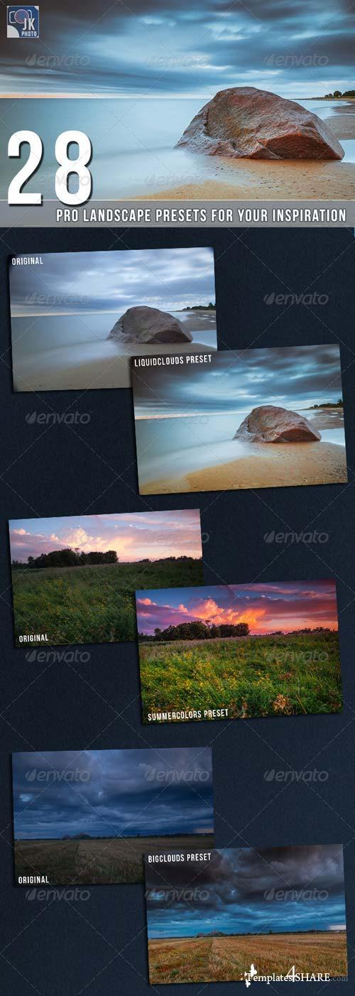 GraphicRiver 28 Pro Landscape Presets