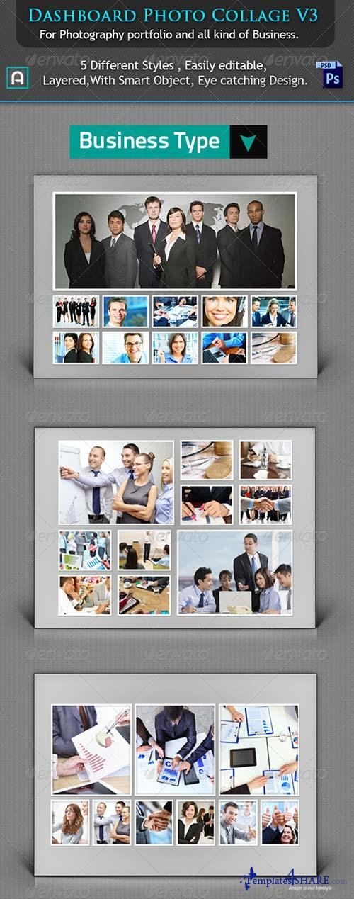 GraphicRiver Collage Photo Template V3