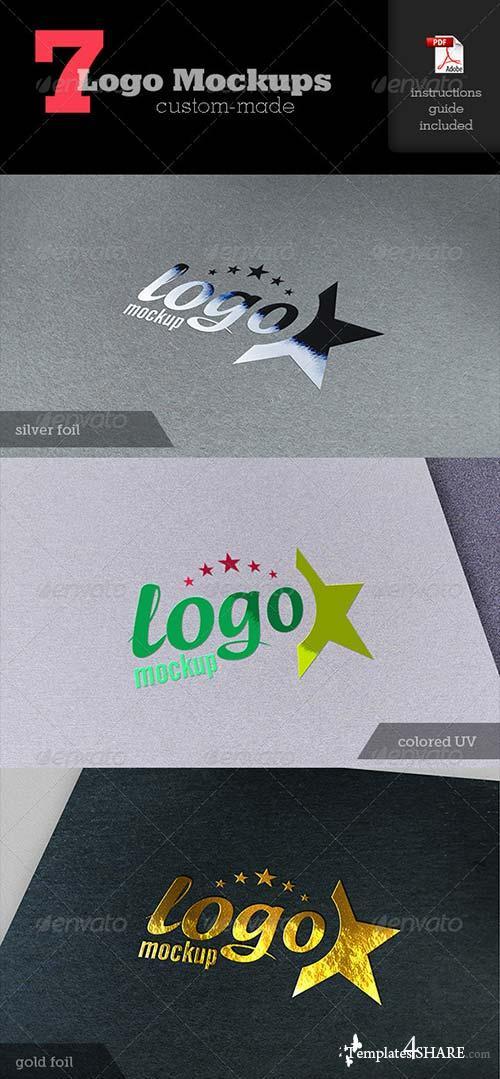 GraphicRiver Realistic Logo Mockups