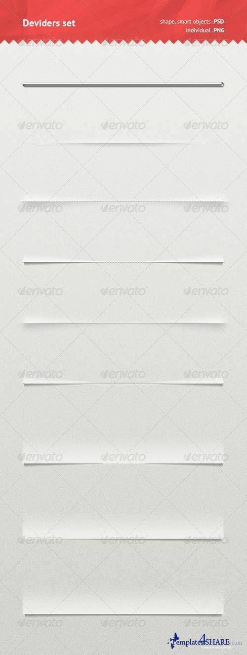 GraphicRiver Dividers Set