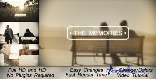 Memories Slideshow - After Effects Project (Videohive)