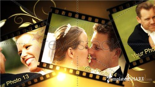 Our Wedding Film Strips Memories V2 - After Effects Project (RevoStock)