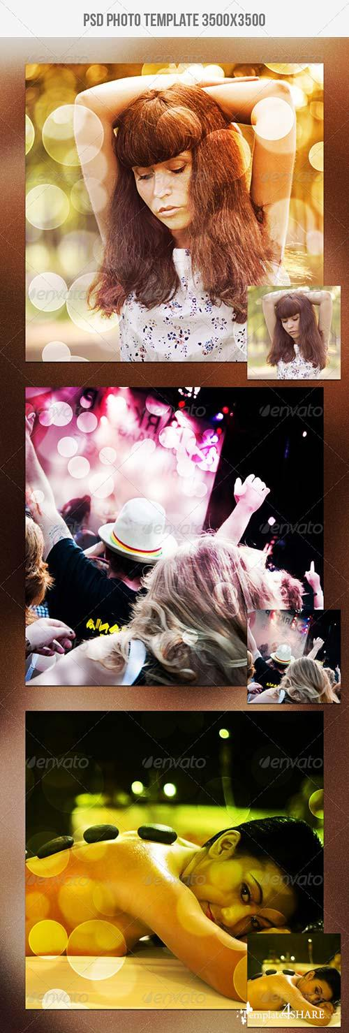 GraphicRiver Bokeh Photo Template