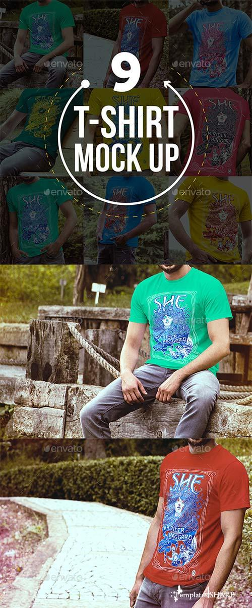 GraphicRiver T-Shirt Mock Up 8892137