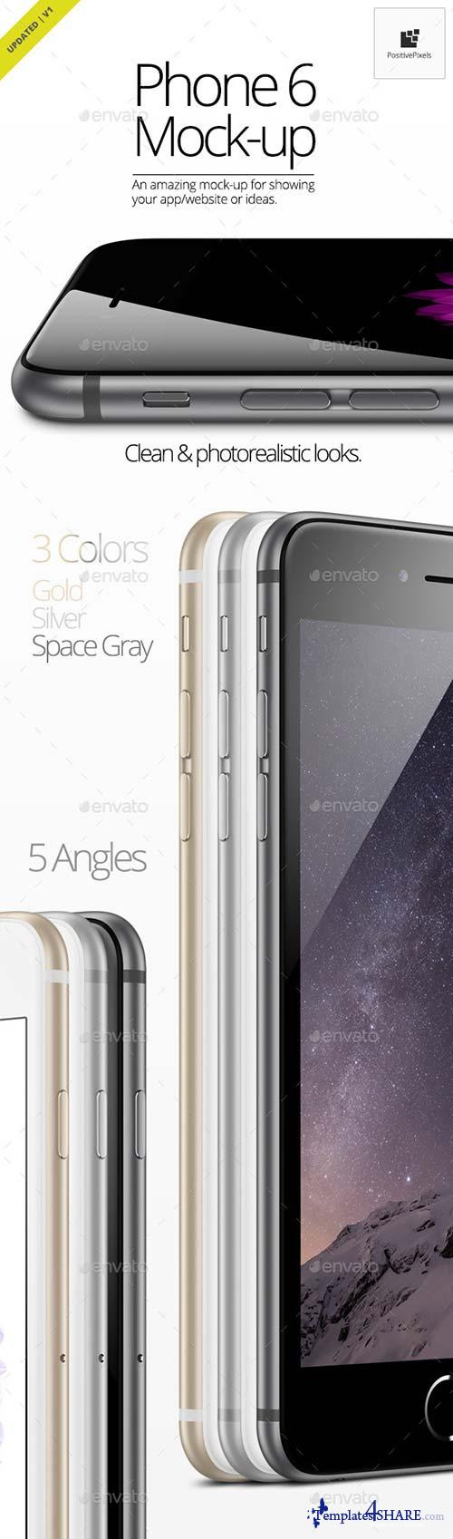GraphicRiver Phone 6 Mock-Up