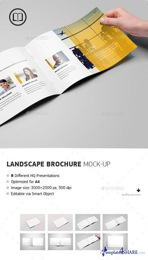 GraphicRiver Landscape Brochure / Catalog Mock-Up