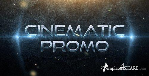 Cinematic Promo Trailer - After Effects Project (Videohive)