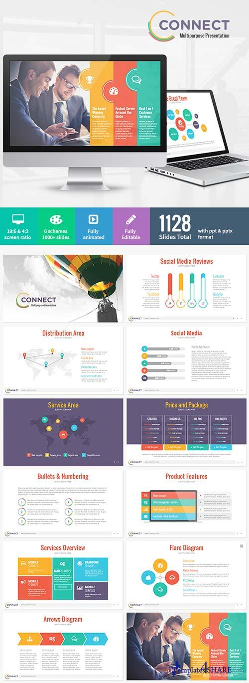 GraphicRiver Connect - Modern Powerpoint Template